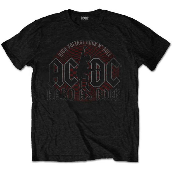 ACDC Hard as Rock Black Unisex T-Shirt